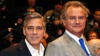 George Clooney e Hugh Bonneville | Foto: Getty