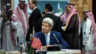 အမေရိကန်နဲ့ အာရပ်နိုင်ငံတွေဆွေးနွေး
