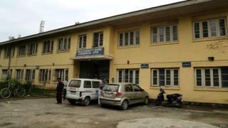 श्रीनगर का अस्पताल