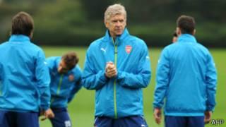 Ni inshuro ya 17 Arsene Wenger ageza Arsenal ku rwego rw'amatsinda ya Champions League