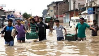 भारत प्रशासित कश्मीर में बाढ़