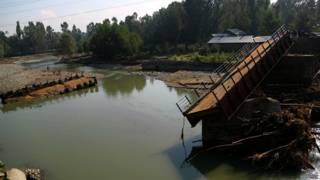 पुलवामा में बाढ़