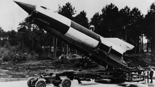 Фау-2 готова к запуску. 1945 год, Нижняя Саксония