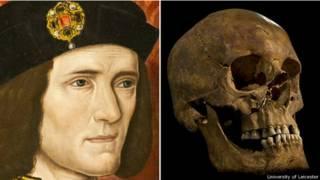 Los restos de Ricardo III fueron encontrados bajo un aparcamiento en Leicester en 2012.
