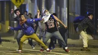 Enfrentamientos en Ecuador