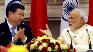 शी जिनपिंग, चीन, नरेंद्र मोदी, भारत