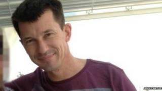 John Cantlie (foto de archivo)
