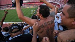 Torcedores do Corinthians (Getty)