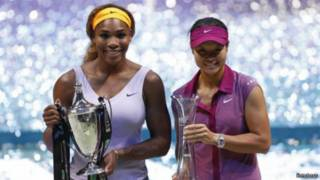 Li Na và Serena Williams