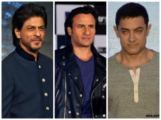शाहरुख खान, सैफ़ अली खान, आमिर खान