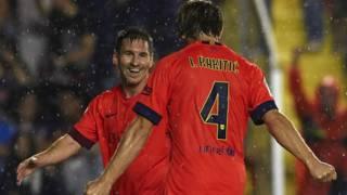 Messi y Rakitic