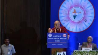 达赖喇嘛在印度首都