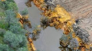 Derrame en río Sonora