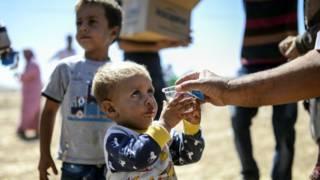 Курдские беженцы
