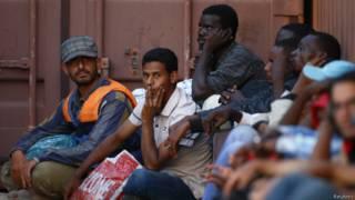 Нелегальные мигранты на Мальте