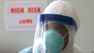 Prevención, ébola