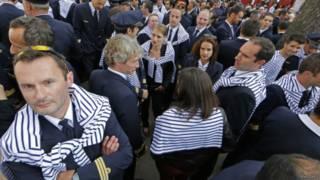 法航飛行員罷工