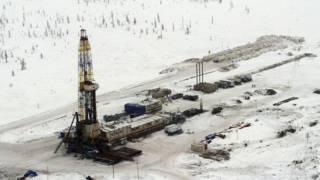 Нефтяная вышка в Сибири