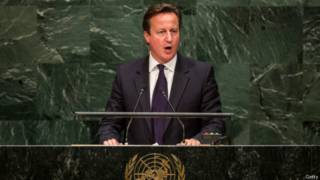 英國首相卡梅倫(24/09/2014)