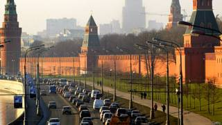 Пробки в центре Москвы