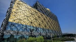 位于英国第二大城市伯明翰市中心的伯明翰图书馆