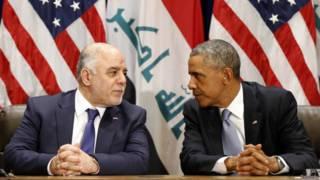 аль-Абади и Обама