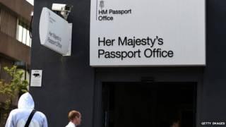 英國護照局