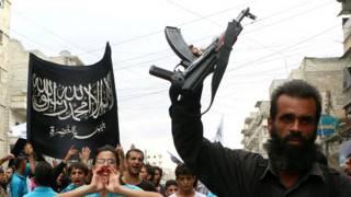 Nhóm al- Nusra ở Syria