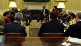 नरेंद्र मोदी और बराक ओबामा