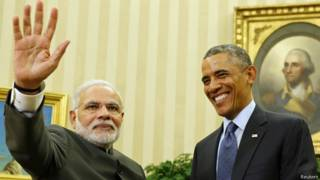 नरेंद्र मोदी, बराक ओबामा