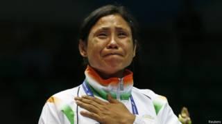 भारतीय मुक्केबाज़ सरिता देवी एशियाड