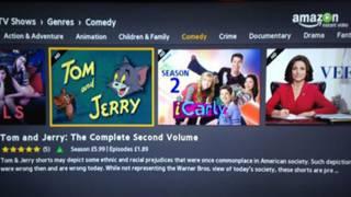 """Страница """"Том и Джерри"""" Amazon Video"""