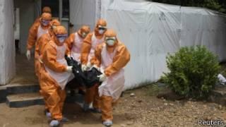Iciza ca Ebola ciri mu vyatumye haba ico gihombo