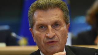 Oettinger (AFP)