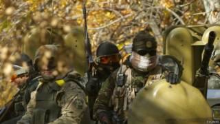 Українські військові у Краматорську