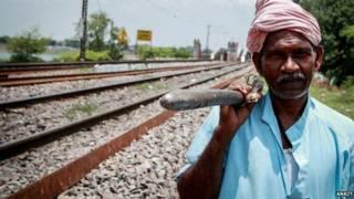 रामदीन, भारतीय रेल