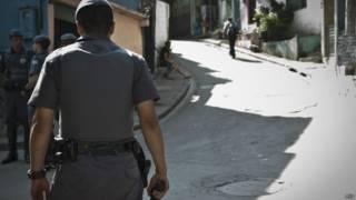Policial em São Paulo (Agência Brasil)