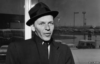 弗兰克·西纳特拉,20世纪美国最著名的歌星、演员之一