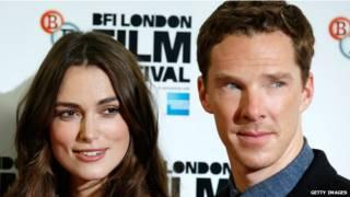 Keira Knightley ve Benedict Cumberbatch