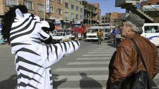 """Боливиец, работающий по программе """"Мама Зебра"""""""