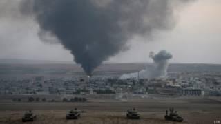 Дым над Кобани