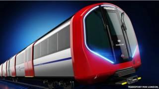 Diseño de nuevos trenes para el Metro de Londres