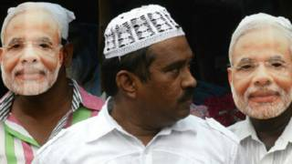 नरेंद्र मोदी, भारतीय मुस्लिम