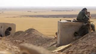 المقاتلون الأكراد في كوباني