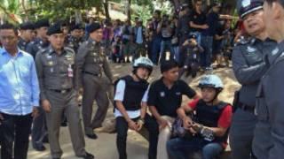 Two Burmese were accused of murder