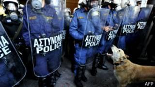 Polisi yafashe abaterabwoba