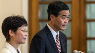 Глава администрации Гонконга Лян Чжэнъин