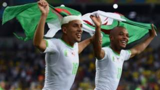 Sofiane Feghouli and Yacine Brahimi