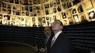 Министр иностранных дел Латвии в музее Яд-Вашем