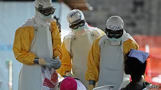 Ebola imaze guhitana abantu 4500